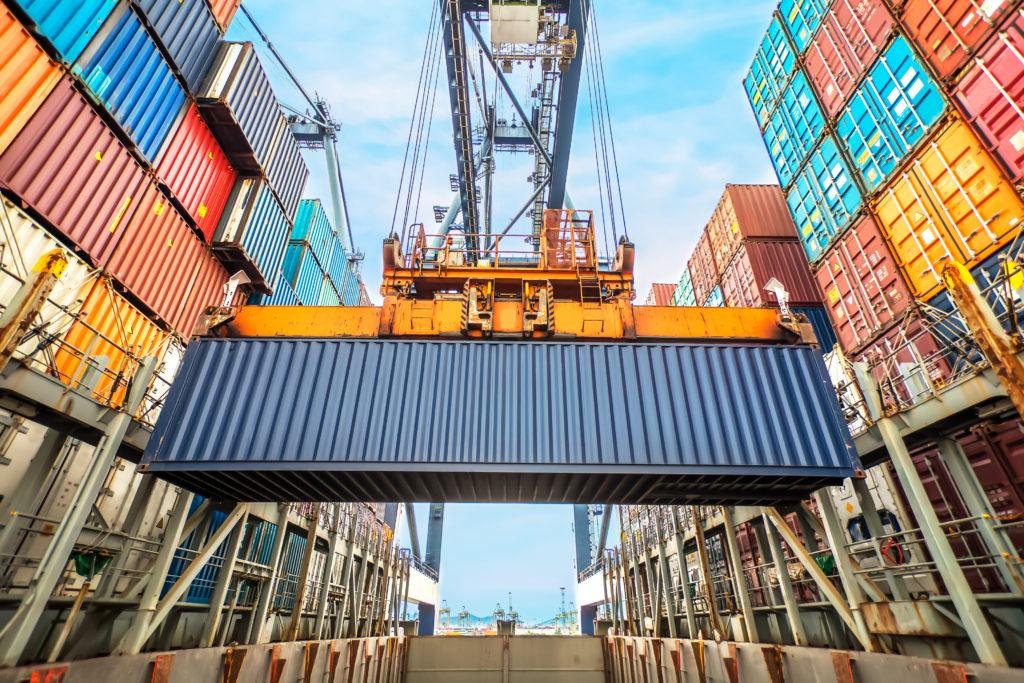 SMV eksportstrategi - container